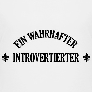 Introvertierter Introvertierte introvertiert Wesen T-Shirts - Teenager Premium T-Shirt