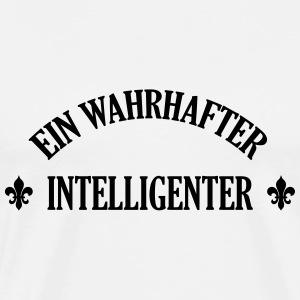 Intelligenter Intelligente Genie Geek Mathematik T-Shirts - Männer Premium T-Shirt