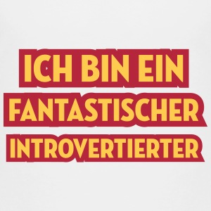 Introvertierter Introvertierte introvertiert Wesen T-Shirts - Kinder Premium T-Shirt