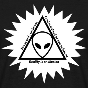 UFO - Alien - Illuminati - Conspiracy Theory Ovni T-Shirts - Men's T-Shirt