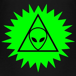 UFO - Alien - Illuminati - Conspiracy Theory Ovni Shirts - Teenage Premium T-Shirt