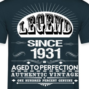 LEGEND SINCE 1931 T-Shirts - Men's T-Shirt