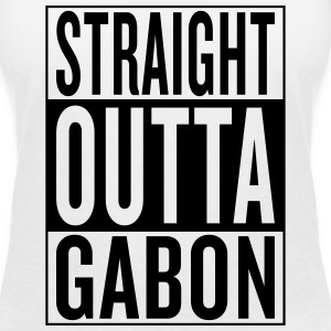 Gabon T-Shirts - Women's V-Neck T-Shirt