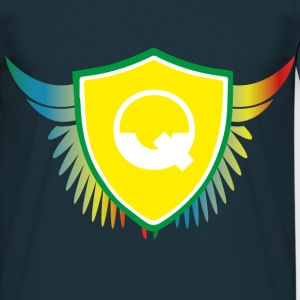 Logo Quicky Angel Color Tee shirts - T-shirt Homme
