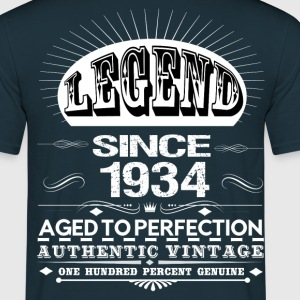 LEGEND SINCE 1934 T-Shirts - Men's T-Shirt