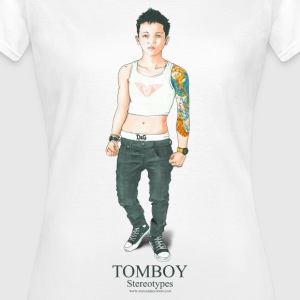 Tomboy. Stereotypes Collection. - Camiseta mujer