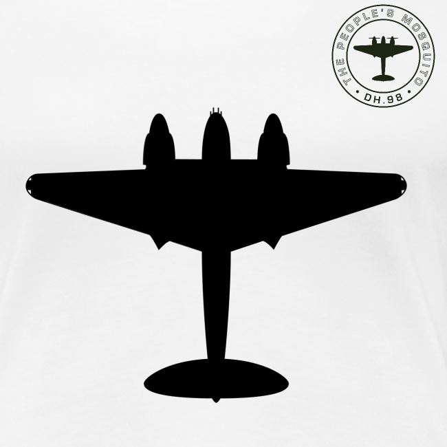 Mosquito Silhouette Women's T-Shirt - Various Colours