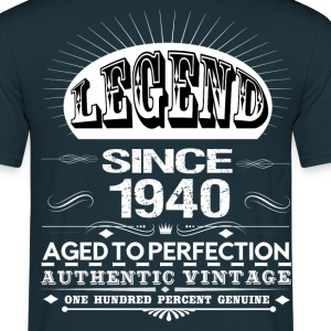 LEGEND SINCE 1940 T-Shirts - Men's T-Shirt