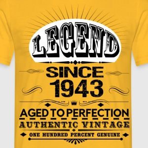 LEGEND SINCE 1943 T-Shirts - Men's T-Shirt