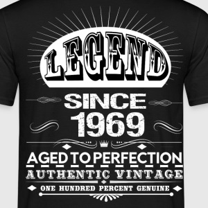 LEGEND SINCE 1969 T-Shirts - Men's T-Shirt