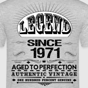 LEGEND SINCE 1971 T-Shirts - Men's T-Shirt