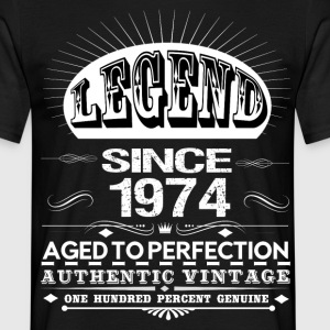 LEGEND SINCE 1974 T-Shirts - Men's T-Shirt