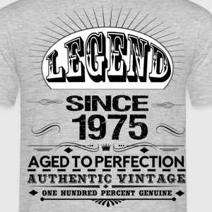 LEGEND SINCE 1975 T-Shirts - Men's T-Shirt
