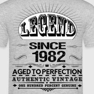 LEGEND SINCE 1982 T-Shirts - Men's T-Shirt