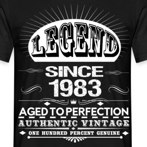 LEGEND SINCE 1983 T-Shirts - Men's T-Shirt