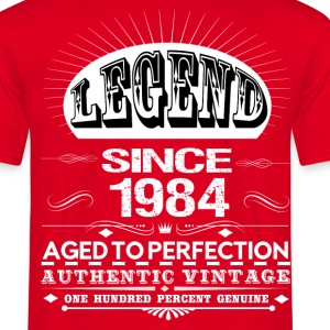 LEGEND SINCE 1984 T-Shirts - Men's T-Shirt