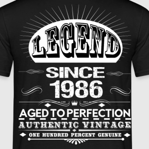 LEGEND SINCE 1986 T-Shirts - Men's T-Shirt