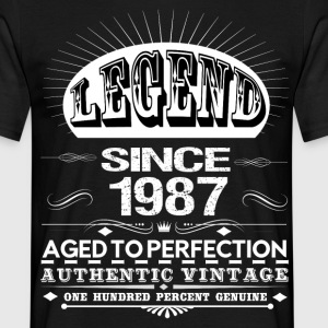 LEGEND SINCE 1987 T-Shirts - Men's T-Shirt