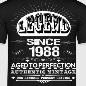 LEGEND SINCE 1988 T-Shirts - Men's T-Shirt