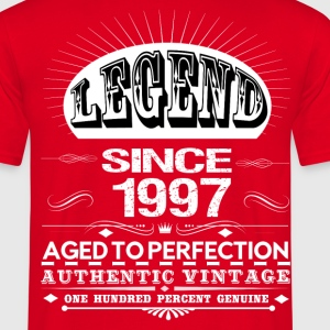 LEGEND SINCE 1997 T-Shirts - Men's T-Shirt