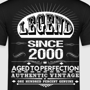 LEGEND SINCE 2000 T-Shirts - Men's T-Shirt