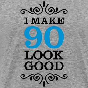 I Make 90 Look Good T-shirts - Premium-T-shirt herr