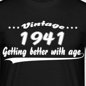 Vintage 1941 Getting Better With Age T-Shirts - Men's T-Shirt