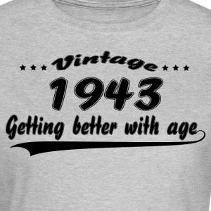 Vintage 1943 Getting Better With Age T-Shirts - Women's T-Shirt