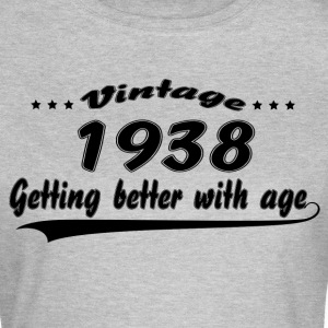 Vintage 1938 Getting Better With Age T-Shirts - Women's T-Shirt