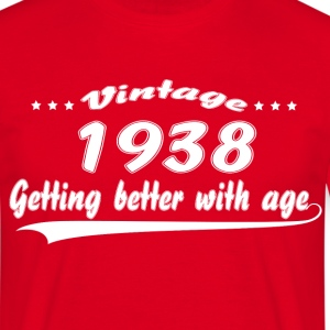 Vintage 1938 Getting Better With Age T-Shirts - Men's T-Shirt