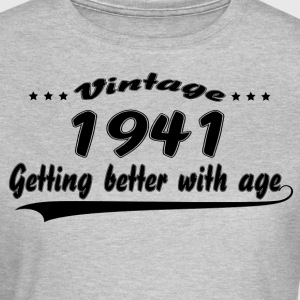 Vintage 1941 Getting Better With Age T-Shirts - Women's T-Shirt