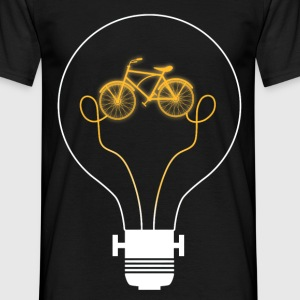 bike bulb - Men's T-Shirt
