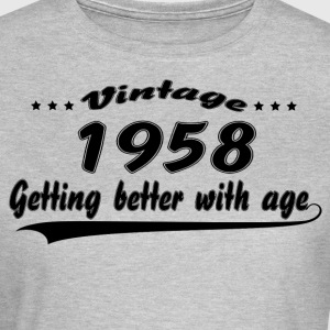 Vintage 1958 Getting Better With Age T-Shirts - Women's T-Shirt