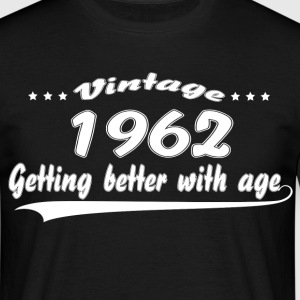Vintage 1962 Getting Better With Age T-Shirts - Men's T-Shirt