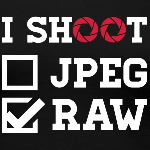I Shoot ? - Photography T-Shirts - Frauen Premium T-Shirt