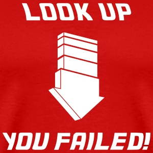 Look Up - Fail T-Shirts - Männer Premium T-Shirt