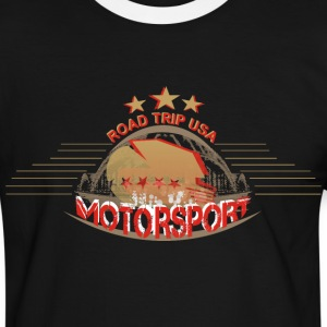 usa tour motorsport T-Shirts - Männer Kontrast-T-Shirt