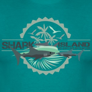 sharisland-sharkshirt T-shirts - Mannen T-shirt
