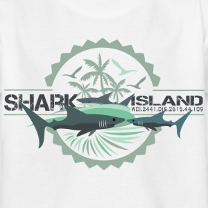 sharkisland-sharkshirt T-Shirts - Kinder T-Shirt