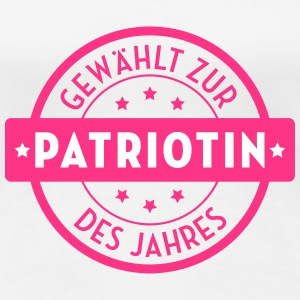 Patriot Patriotin Deutschland Deutscher Deutsch T-Shirts - Frauen Premium T-Shirt
