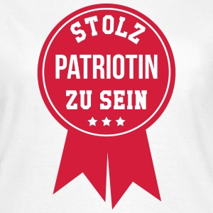 Patriot Patriotin Deutschland Deutscher Deutsch T-Shirts - Frauen T-Shirt