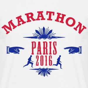 marathon_emblem_2016_paris T-Shirts - Men's T-Shirt