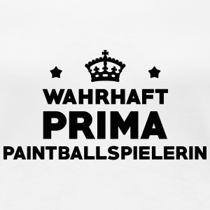 Paintball Paintballspieler Gaming Gamer Game T-Shirts - Frauen Premium T-Shirt