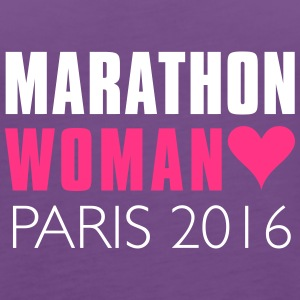 MARATHON Woman 2016 Paris  - Women's Premium Tank Top