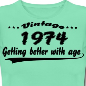 Vintage 1974 Getting Better With Age T-Shirts - Women's T-Shirt
