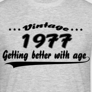 Vintage 1977 Getting Better With Age T-Shirts - Men's T-Shirt