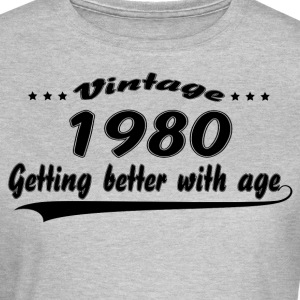Vintage 1980 Getting Better With Age T-Shirts - Women's T-Shirt