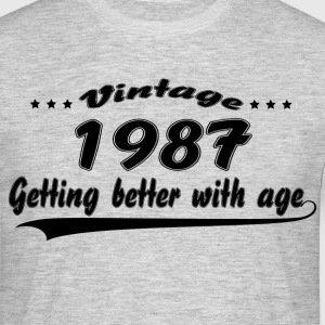 Vintage 1987 Getting Better With Age T-Shirts - Men's T-Shirt