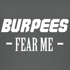 Burpees Fear Me Tops - Women's Organic Tank Top