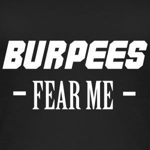 Burpees Fear Me Tops - Camiseta de tirantes orgánica mujer